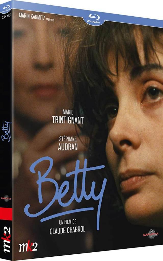 Visuel du Blu-ray Betty (Carlotta)