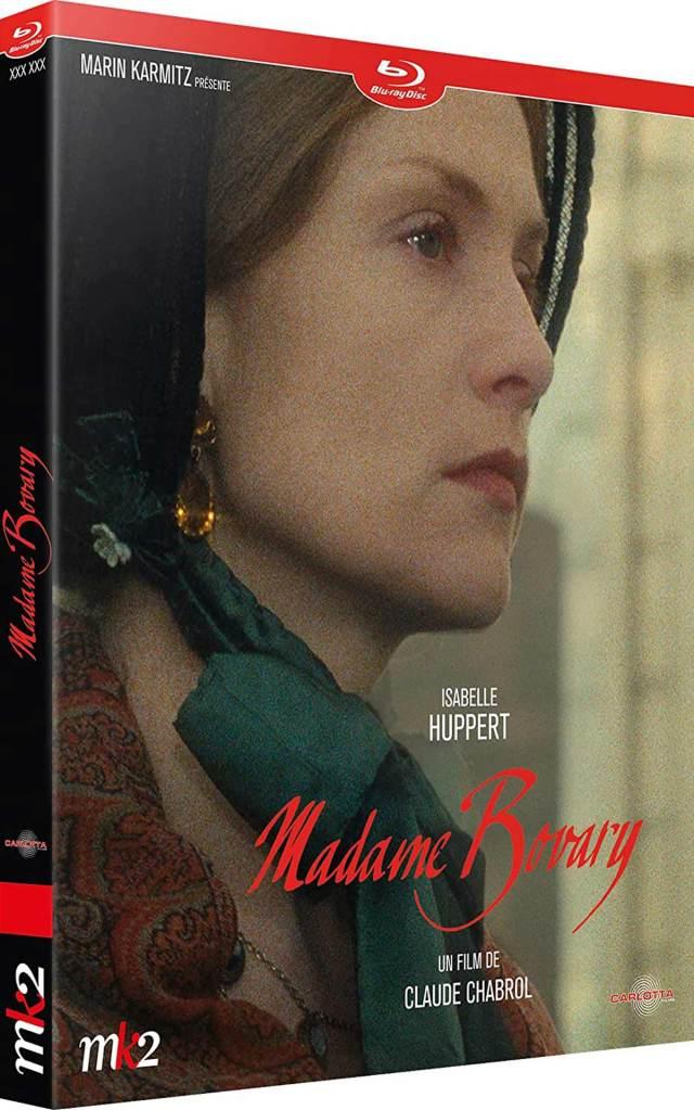 Visuel du Blu-ray Madame Bovary (Carlotta)