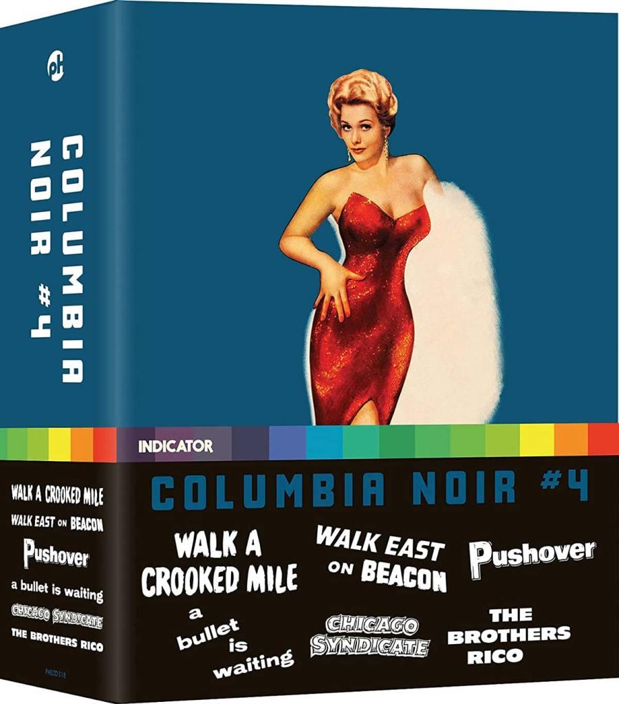 Visuel du coffret Blu-ray Columbia Noir #4 (Indicator)