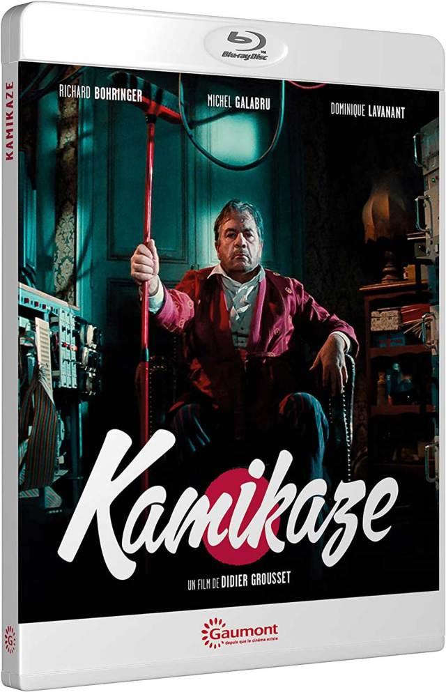 Visuel du Blu-ray Kamikaze (Gaumont)
