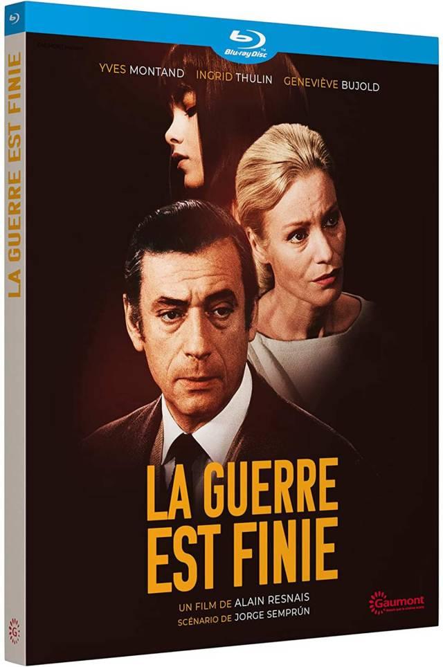 Visuel du Blu-ray La guerre est finie (Gaumont)