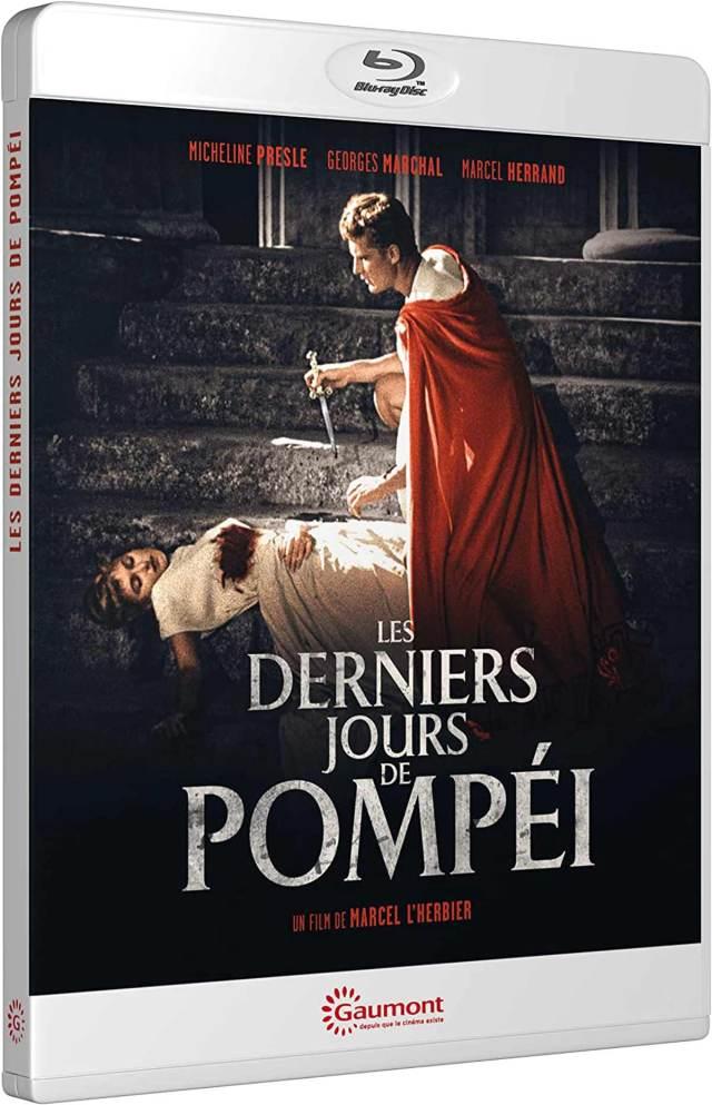 Visuel Blu-ray Les derniers jours de Pompéi (Gaumont)